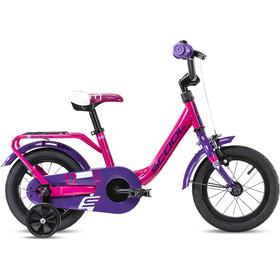 s'cool niXe steel 12 Børn, pink/violet